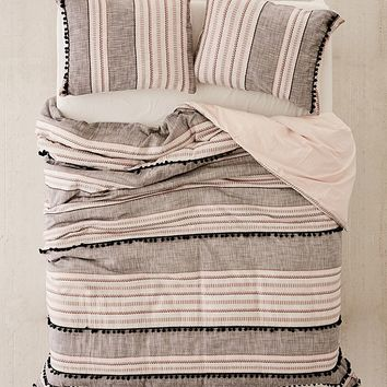 Betty Yarn-Dye Duvet Cover | Urban Outfitters