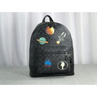 [United States purchasing] Coach F29040 men's backpack imported PVC with suede leather