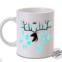 a song of ice and game of thrones Mug, Coffee mug coffee, Mug tea, Design for mug