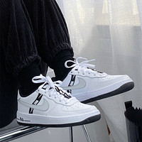 Nike Air Force 1 LV8 KSA GS Worldwide Pack White Reflect Silver Sneakers Shoes