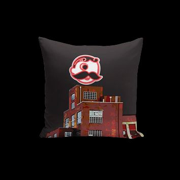 Brewer's Hill - National Bohemian Beer Double-Sided / Throw Pillow