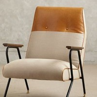 Quentin Chair by Anthropologie Neutral One Size Furniture