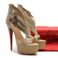 CL Christian Louboutin Fashion Heels Shoes-190