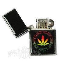 Rasta Legalize It Refillable Lighter @ RastaEmpire.com