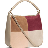 Handbag with Suede Details - from H&M
