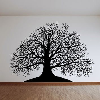 Vinyl Wall Decal Sticker Winter Tree #OS_MB621