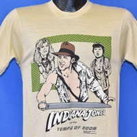 80s Indiana Jones Temple Of Doom t-shirt Small