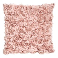 Chiffon flower cushion cover - Light pink - Home All | H&M GB