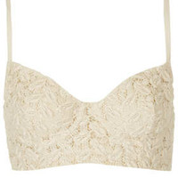 Thick Lace Bralet - Lingerie & Sleepwear - Clothing - Topshop USA