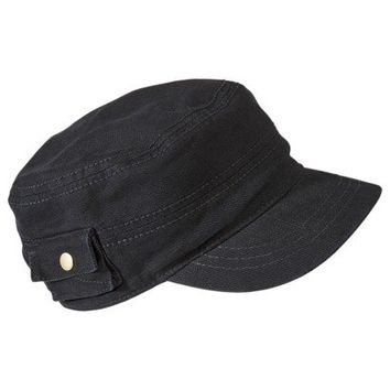 Mossimo Supply Co. Conductor Hat with Pocket - Black