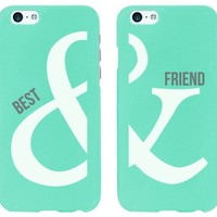 Best Friend with AND symbol - BFF Matching Cell Phone Cases for iPhone 6 and iPhone 6 Plus