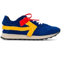 Vintage Yellow Arrow Sneakers by OFF-WHITE