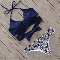 bikini 2017 new arrival swimwear women hot sexy bikini set  push up women's swimsuits bathing suit push up tankiny swimming