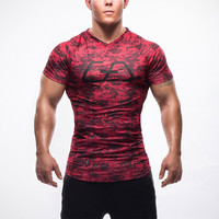 Bodybuilding and Fitness Compression Shirts - Several Options