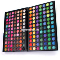 168 Full Colors Makeup Eyeshadow Palette Eye Shadow Make Up Tool Brush W014