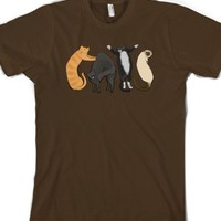 Brown T-Shirt | Cute Cat Shirts