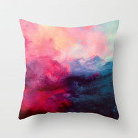 Reassurance Throw Pillow by Caleb Troy | Society6