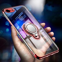 HD Clear Kickstand Case for iPhone X, 8, 8Plus, 7 , 7 Plus and 6s Plus