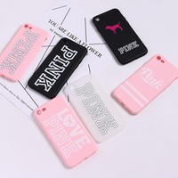 Victoria Pink Case for iPhone