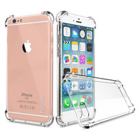 Crystal Clear Series Soft TPU Case Protective UNBreak Back Cover for iPhone 7 7Plus & iPhone se 5s 6 6 Plus +Gift Box