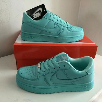 """""""Nike Air Force 1"""" Women Sport Casual Candy Colors Low Help Plate Shoes Sneakers"""