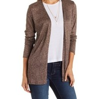 Ribbed & Marled Cardigan by Charlotte Russe