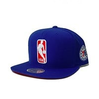 Mitchell & Ness The League Snapback Philadelphia 76ers In Blue
