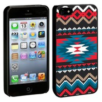 Folk Tribal iPhone 5/5s Hard Shell Case - Black