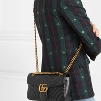 Gucci Gg Marmont Small Quilted Leather Shoulder Bag #1382
