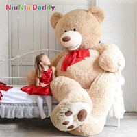 200cm Big Size USA Teddy Bear Large Bearskin Giant Bear #