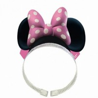 Minnie Mouse Ears w/ Bows (8 Pack)