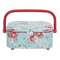 View All | Bright Daisies Small Oval Sewing Sewing Basket | CathKidston