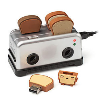 USB Cute Toaster Hub And Thumbdrive
