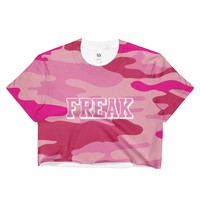 Freak Camo Crop Top