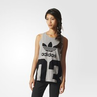 adidas Basketball Number Tank Top - Grey | adidas US