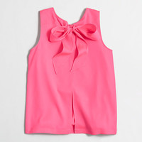 FACTORY BOW-BACK TOP