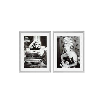 Portrait Print (set of 2) | Eichholtz Marilyn Monroe