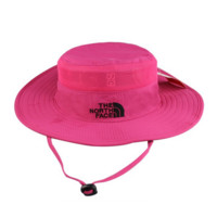 Rose Red Outdoor Summer Fishing Hat Climbing UV Protection Sun Bucket Hats Curtain Cycling Breathable Visors