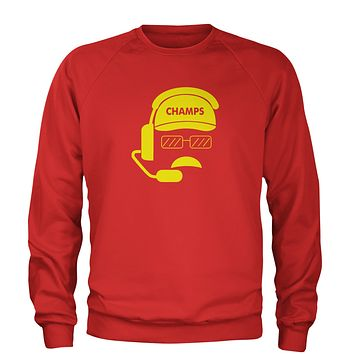 Head Coach Champs Adult Crewneck Sweatshirt