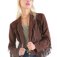 Patti Fringe Jacket