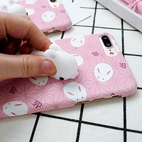 Squishy Phone Case For iPhone 7 iPhone 7 Plus Cat Phone Case Soft 3D Cartoon Ultra Thin Hard Plastic Cases for iPhone 6 6s Plus