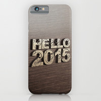 HELLO 2015 ! iPhone & iPod Case by Nirvana.K