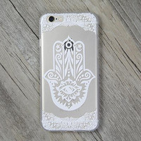 Lace Hand Palm Cover Case for iPhone 5s 5se 6 6s Plus Gift + Gift Box