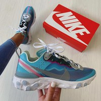"Nike React Element 87 ""Royal Tint"" Sneakers"