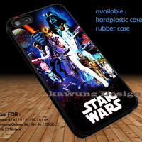 Star Wars Vintage Poster on Galaxy DOP1126 iPhone 6s 6 6s+ 5c 5s Cases Samsung Galaxy s5 s6 Edge+ NOTE 5 4 3 #movie #starwars