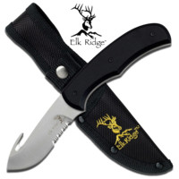 "8"" Hunting Knife with Gut Hook Blade"