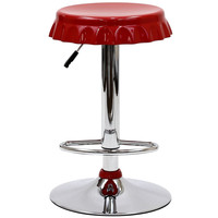 Soda Bottle Bar Stool Red