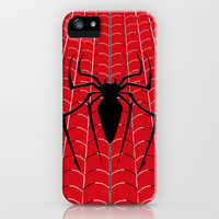 SpiderMan Chest  iPhone & iPod Case by Chubbybuddhist