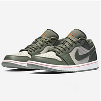 Nike AIR Jordan 1 LOW New fashion hook couple running shoes