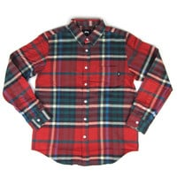 Stussy: Big Plaid Shirt - Red